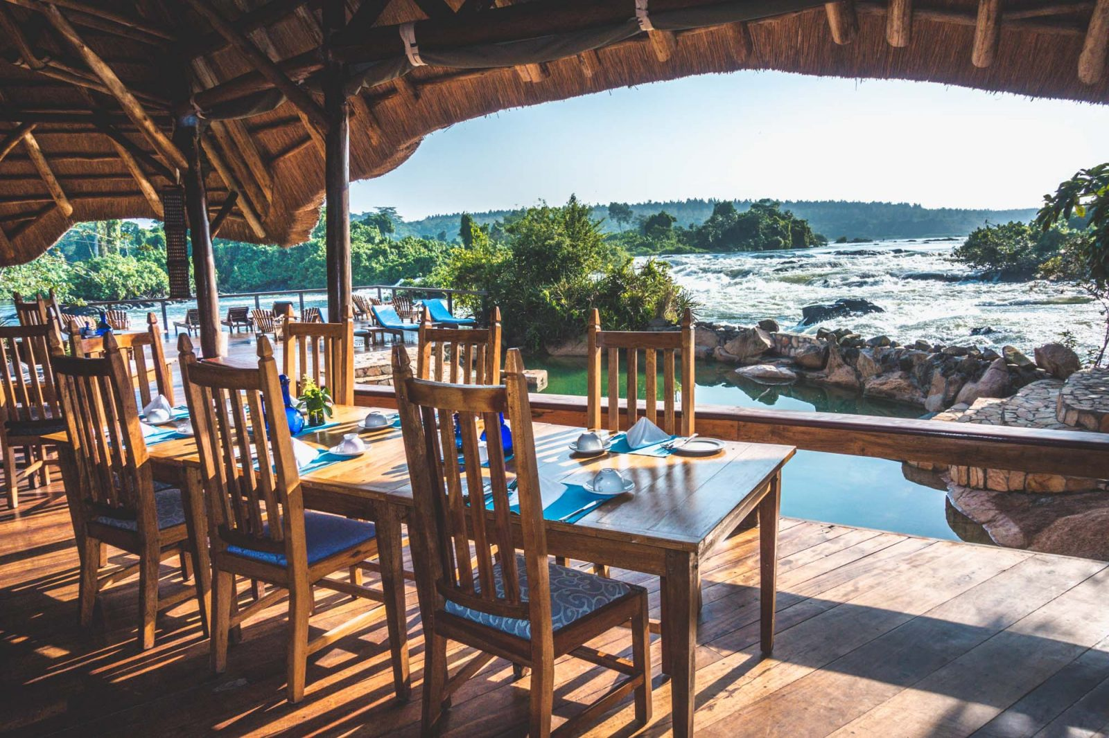Restaurant at the Wildwaters Lodge