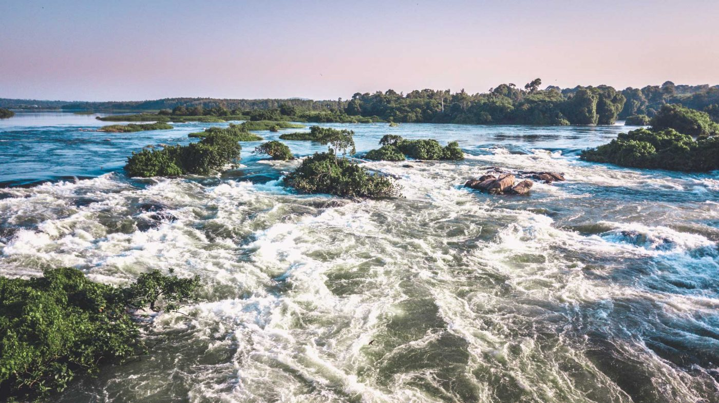 The Nile River, Uganda