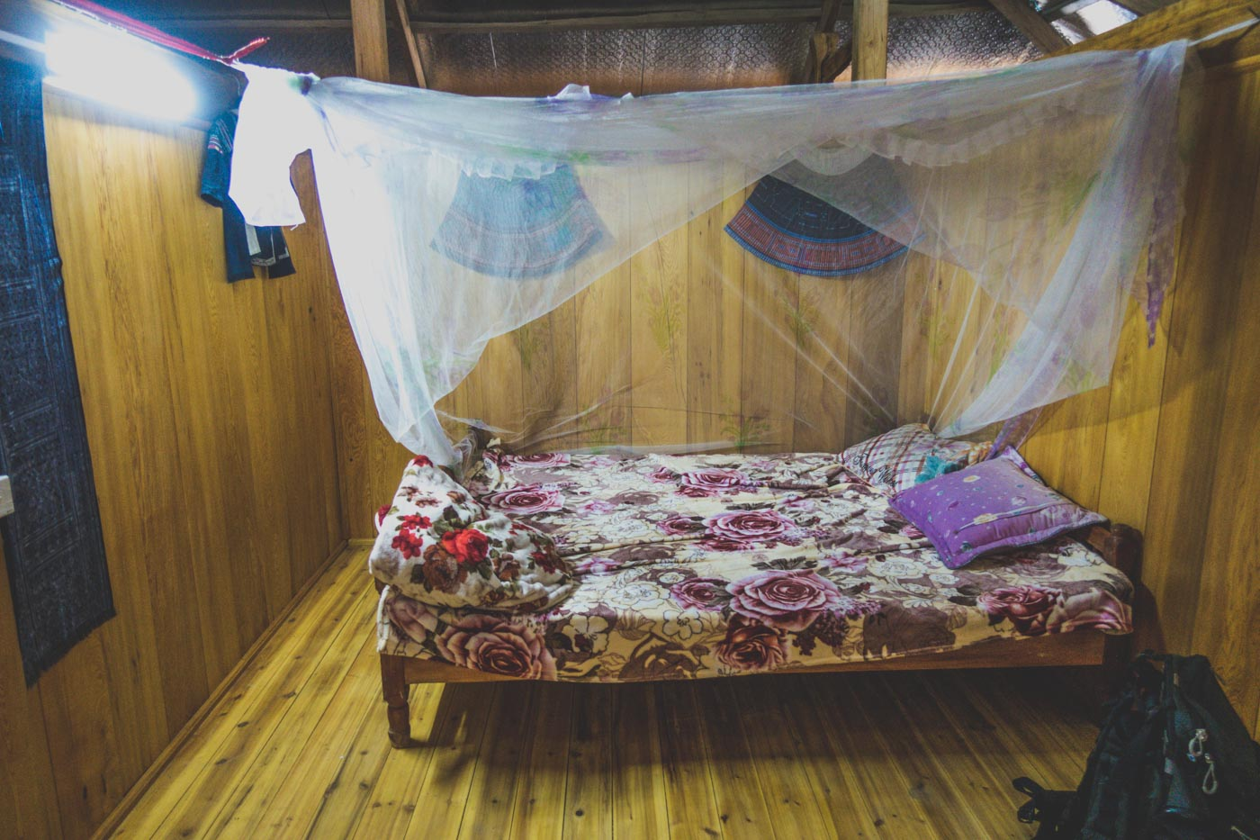 Our room in Black Hmong Homestay