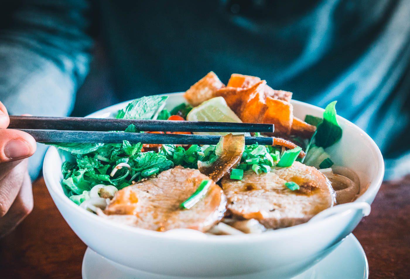 Cao Lau, a unique dish from Central Vietnam region