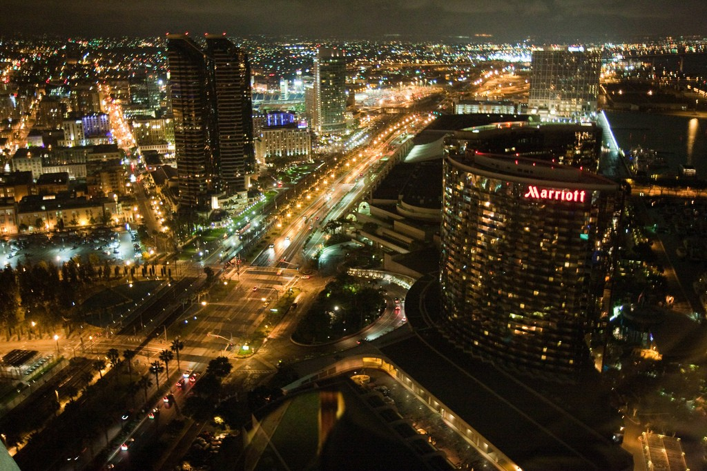 View from Top of the Hyatt