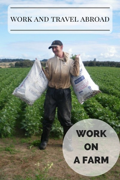 Work and Travel Abroas - Work on a farm