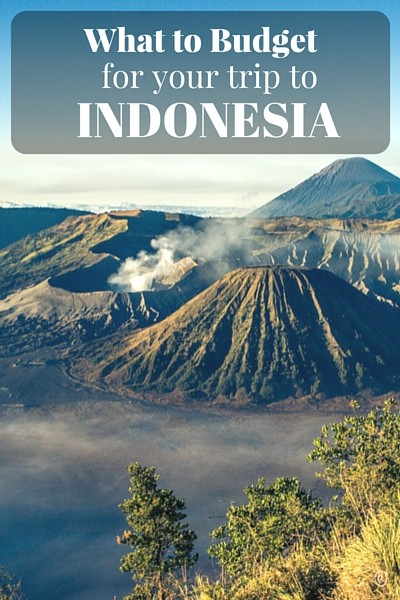 What to Budget for your trip to Indonesia. We break down the cost of accommodation, transportation, activities, food and give helpful tips on how to save money while traveling through Indonesia.