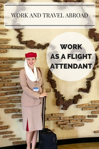 Worka and travel abroad - work as a flight attendant