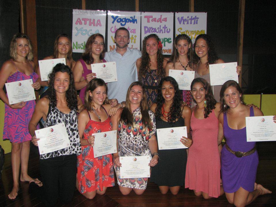 Yoga Teacher Training in Costa Rica: Graduation