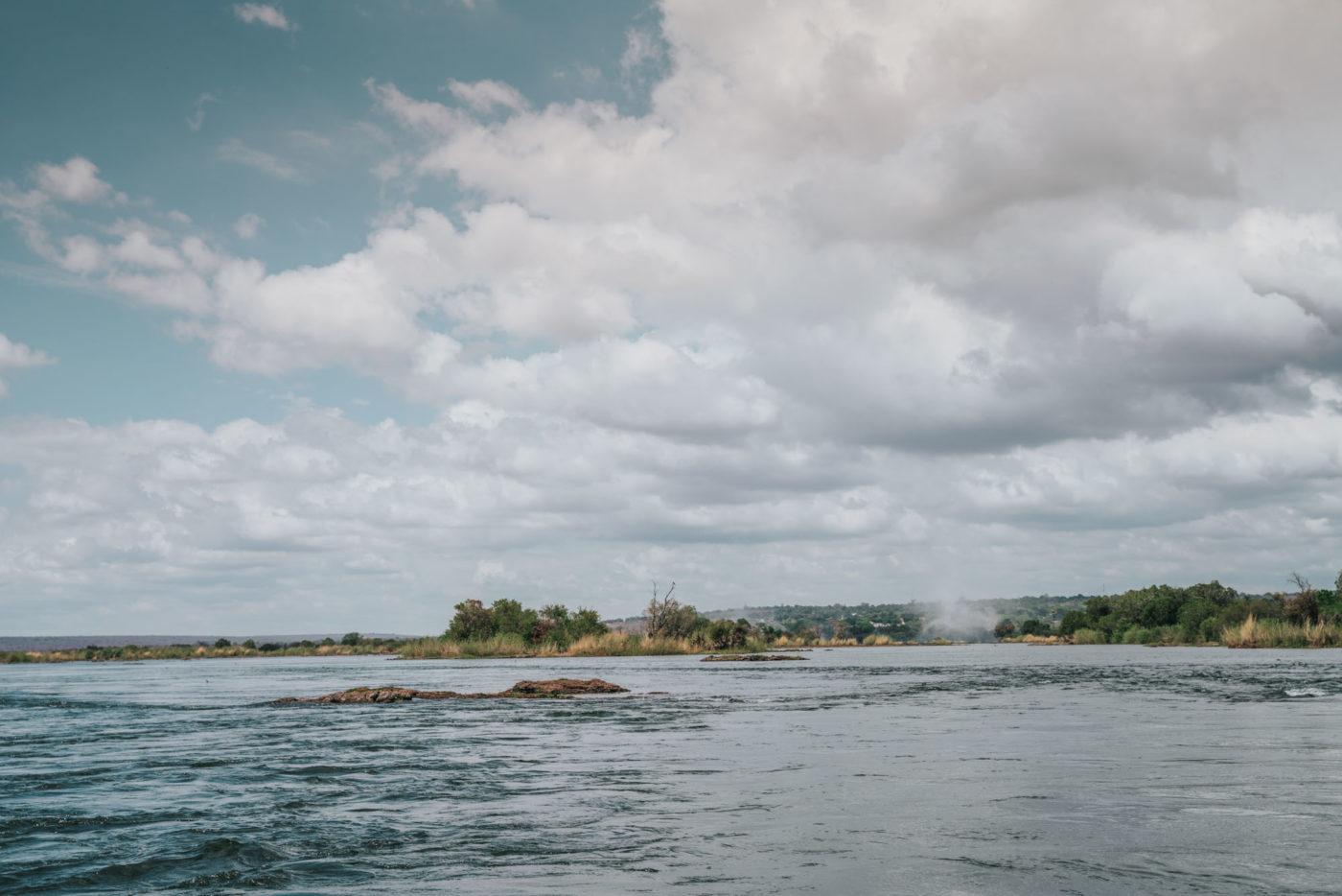Zambezi River, Livingstone Island, Zambia