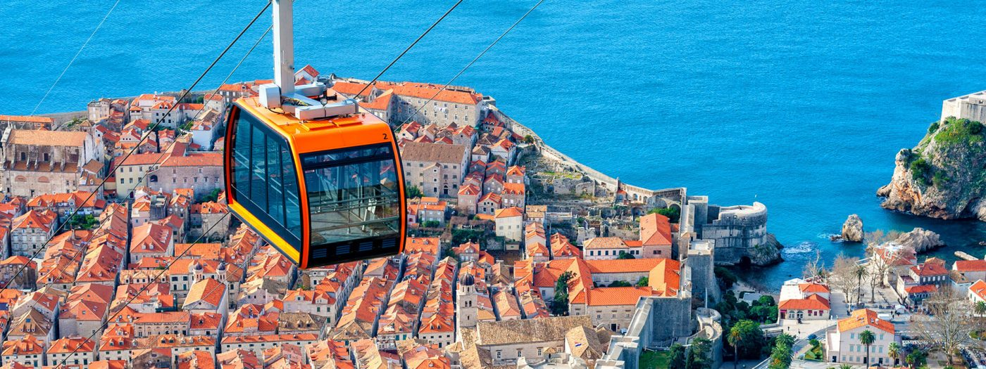 Things to do in Dubrovnik: cable car in Dubrovnik