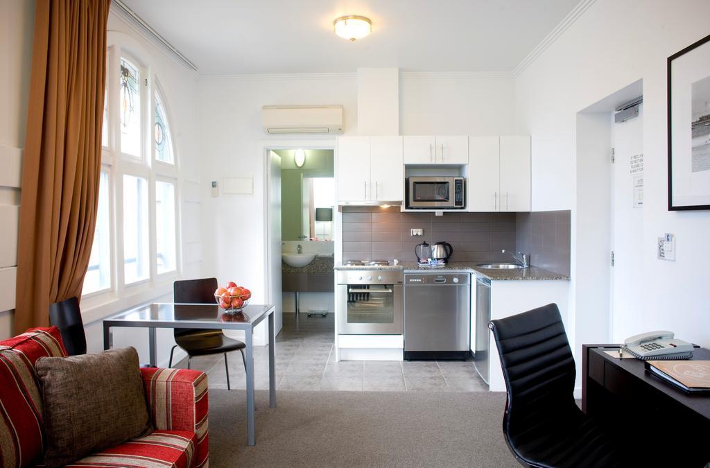 Trip to Australia cost: Suite at Alto Hotel in Melbourne. Photo by the Alto Hotel.
