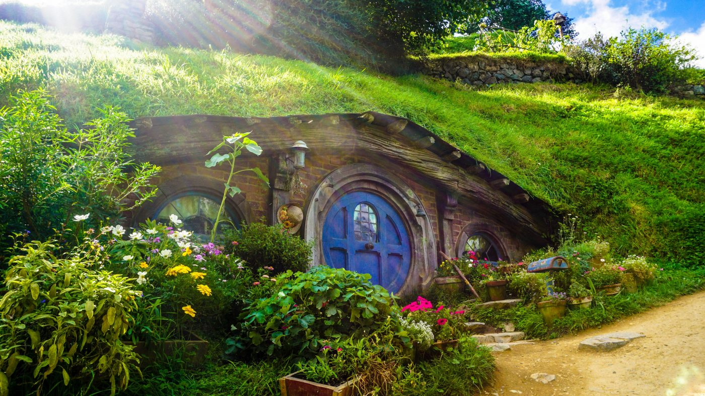Hobbiton is a must see in New Zealand
