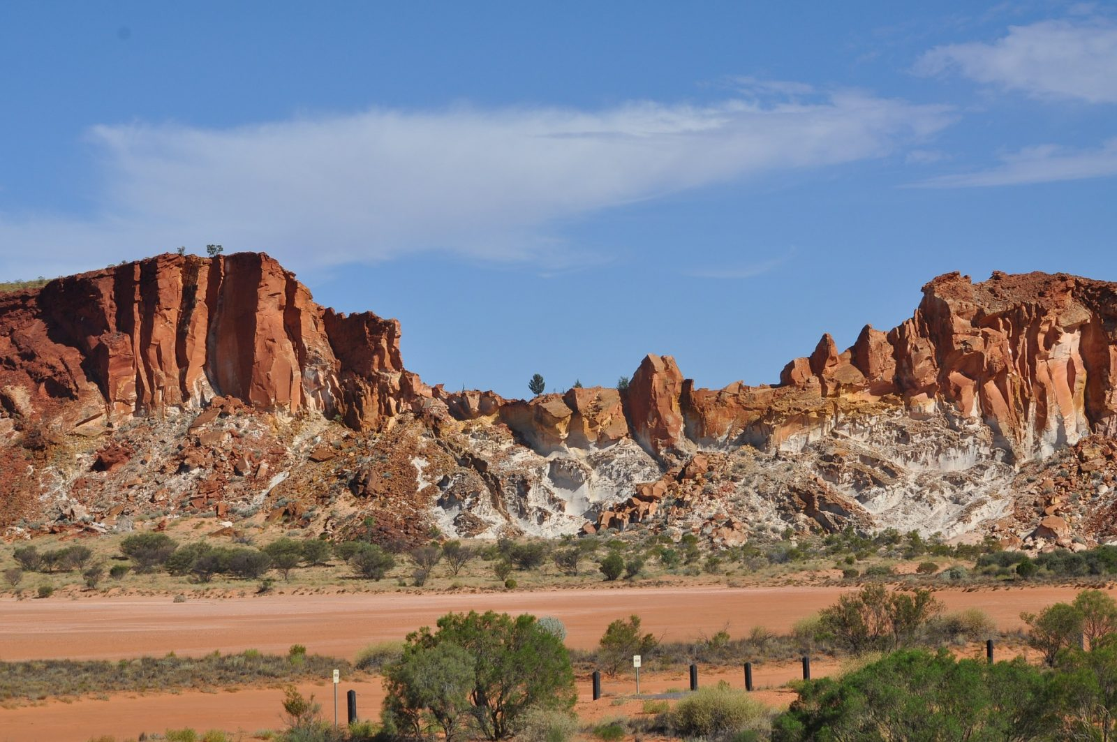 Uluru Tour: Just outside of Alice Springs