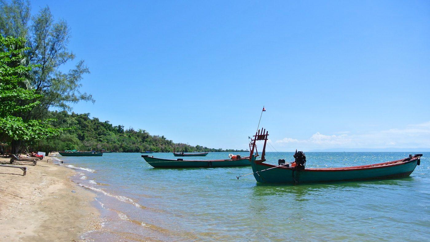 best beaches in cambodia