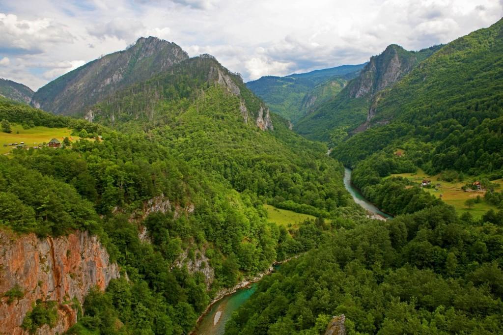 Canyon of the Tara River, Montenegro