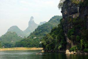 Beautiful places in China: Yangshuo Li River China