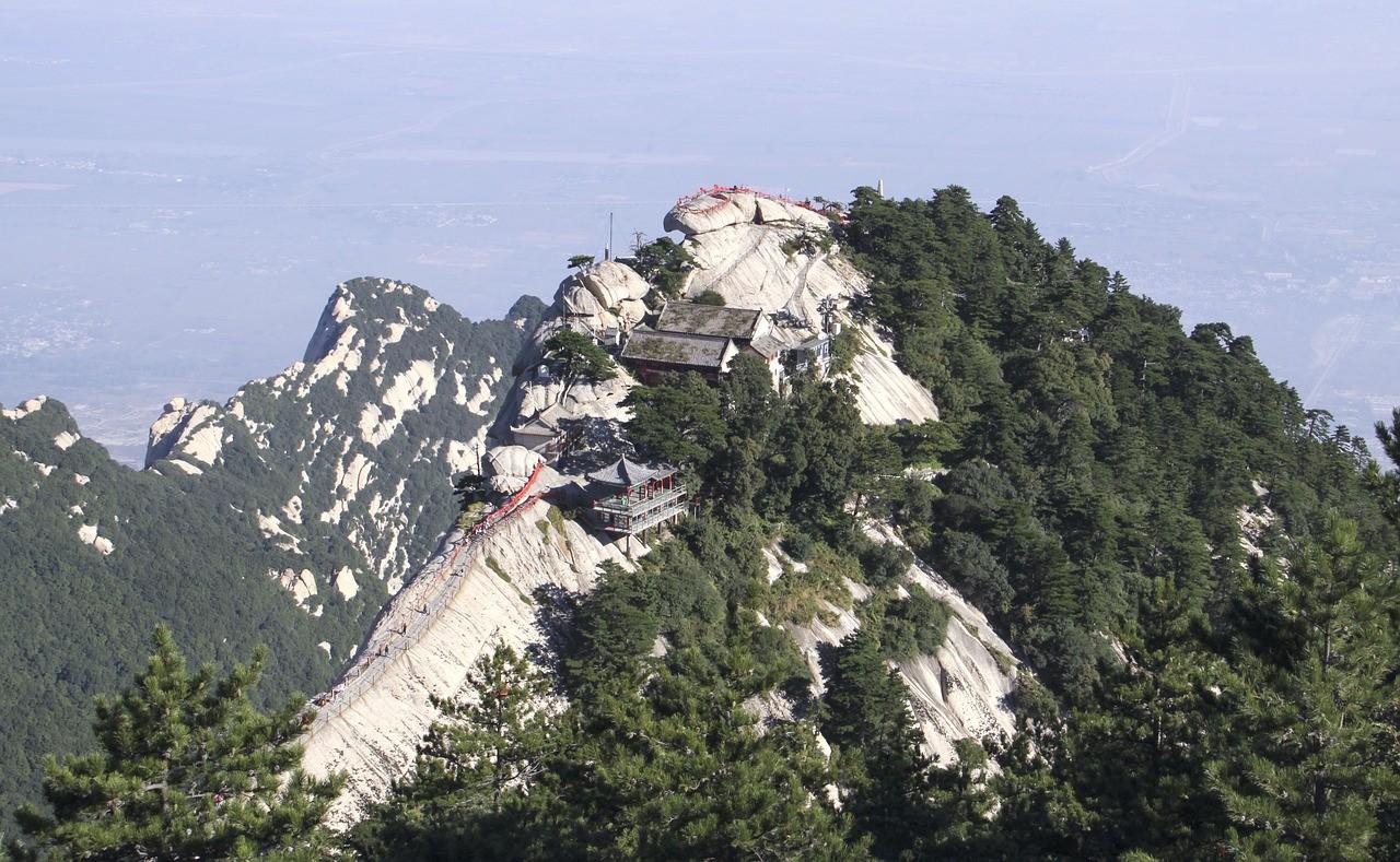 Beautiful places in China: Huashan, Shaanxi