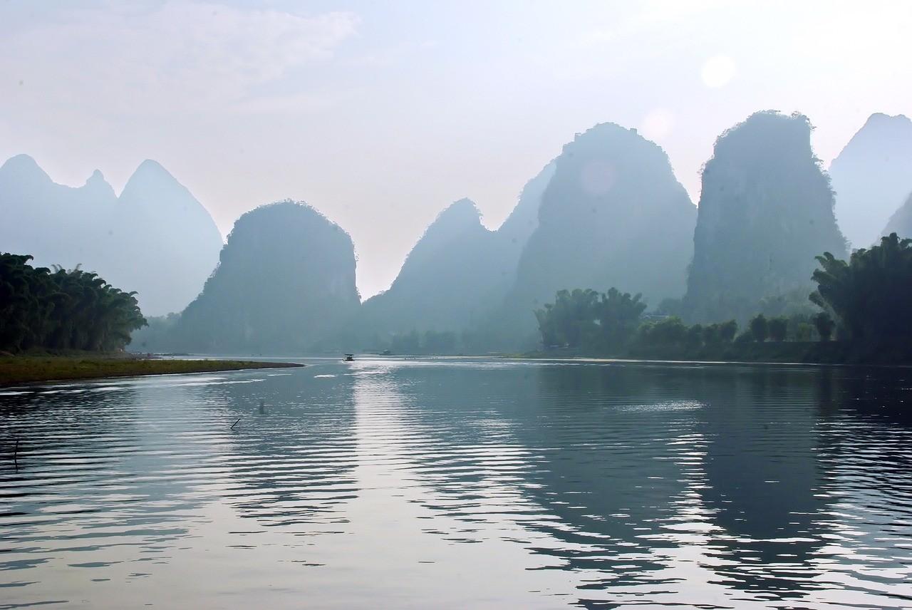 Beautiful places in China: Li River, Yangshuo, China