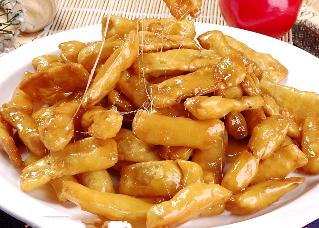 china food-Caramelized Bananas