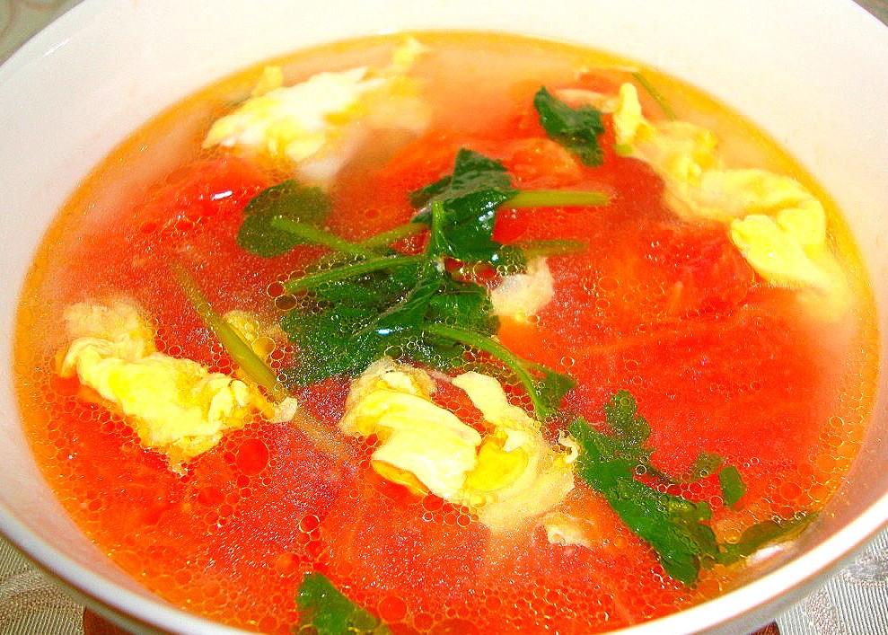 china food- Tomato Scrambled Eggs