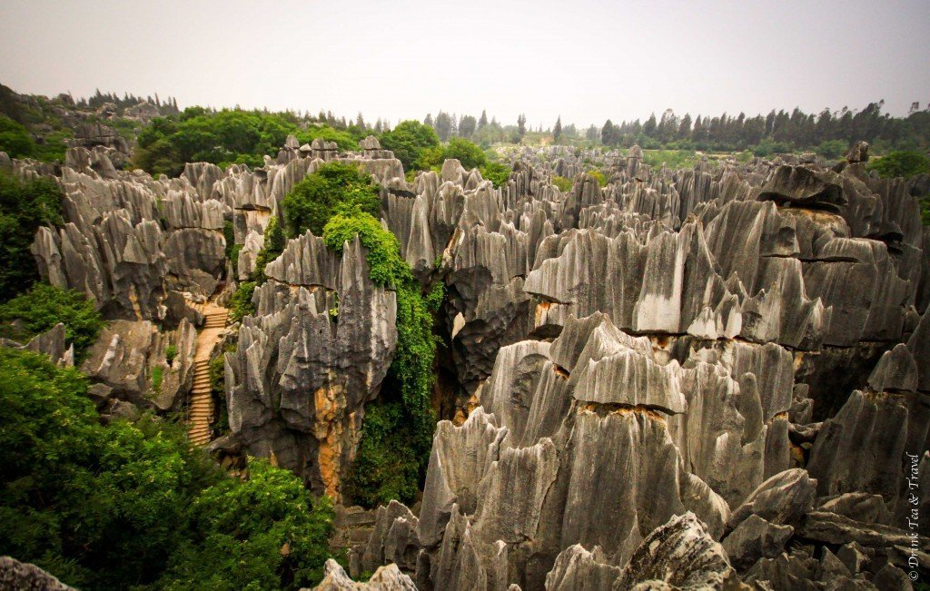 Beautiful places in China: Stone Forest, China