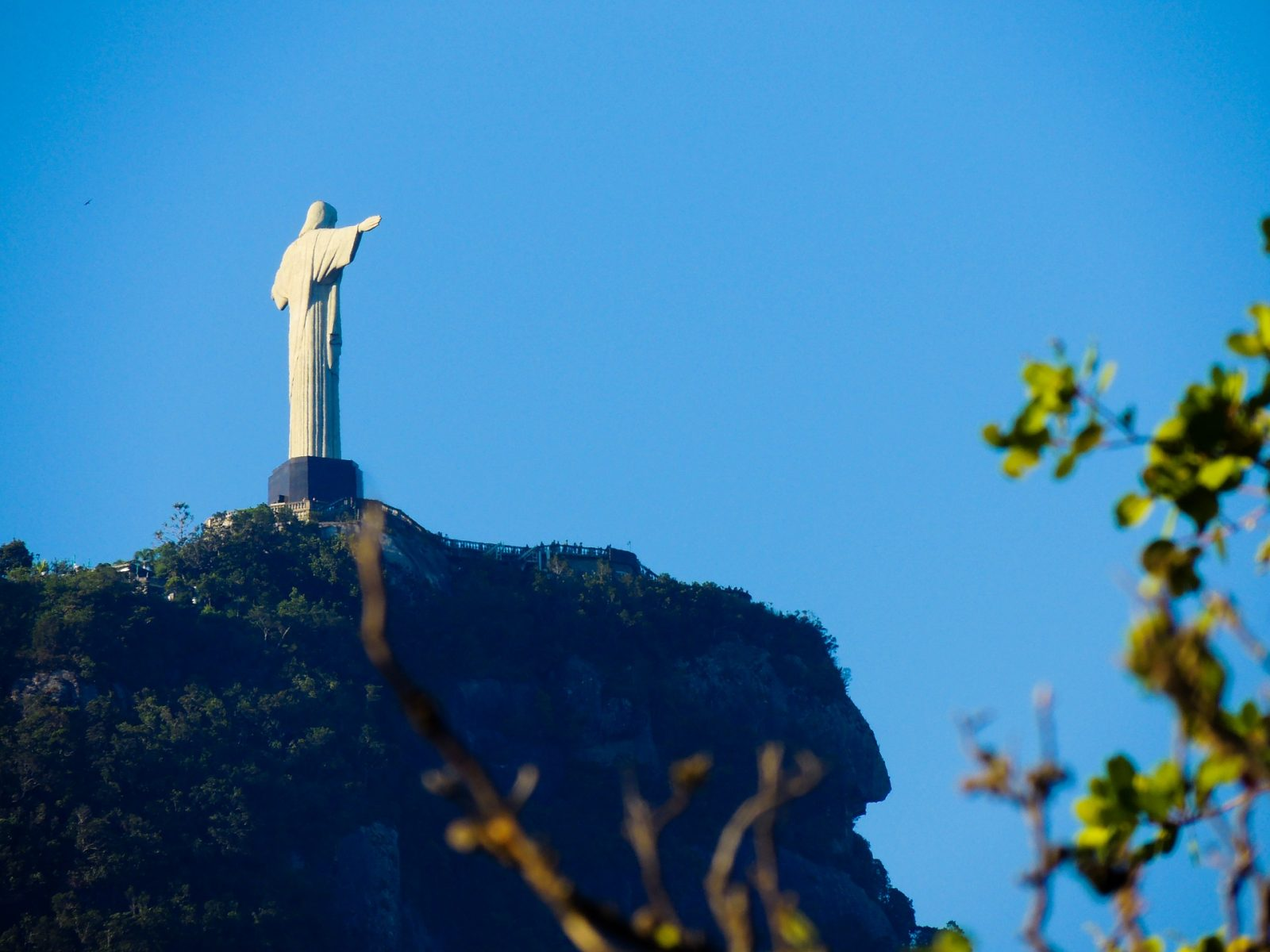 Hike to Christ the Redeemer: Wait till you get to the top to buy your ticket