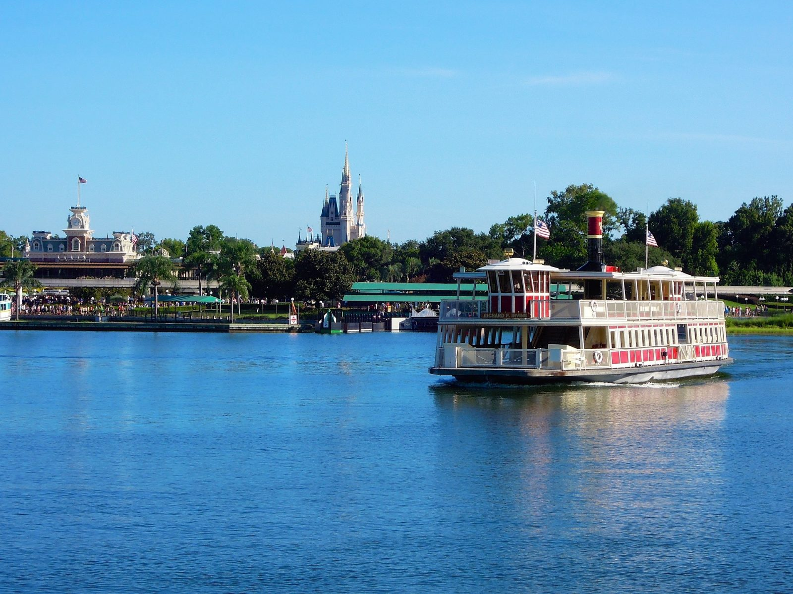 What to do in Orlando: Riverboat en route to the Magic Kingdom