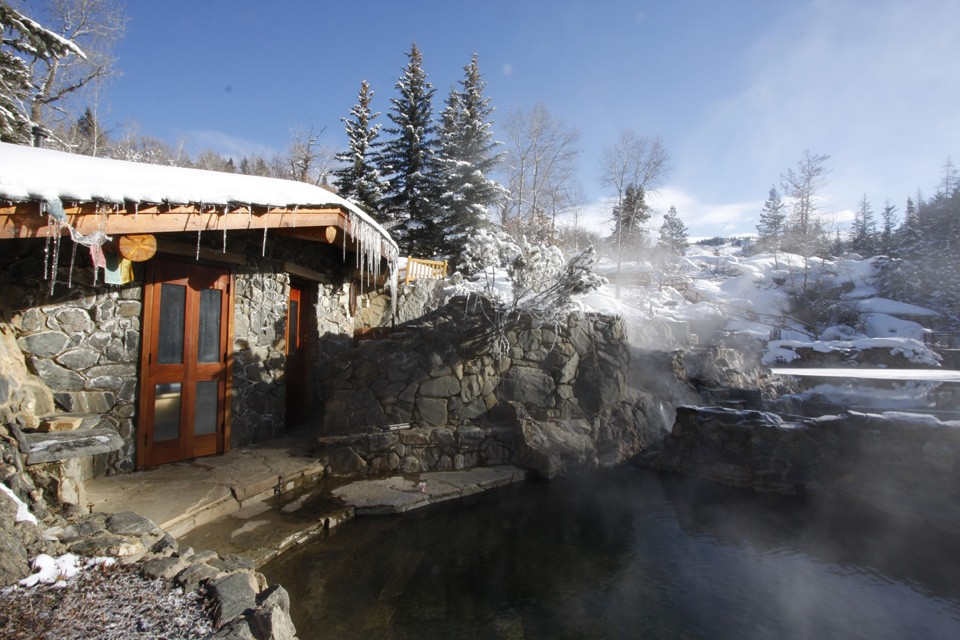 Strawberry Hot Springs. Photo via Strawberry Hot Springs