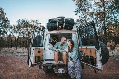 Australia Flinders Ranges O&M Troopy-