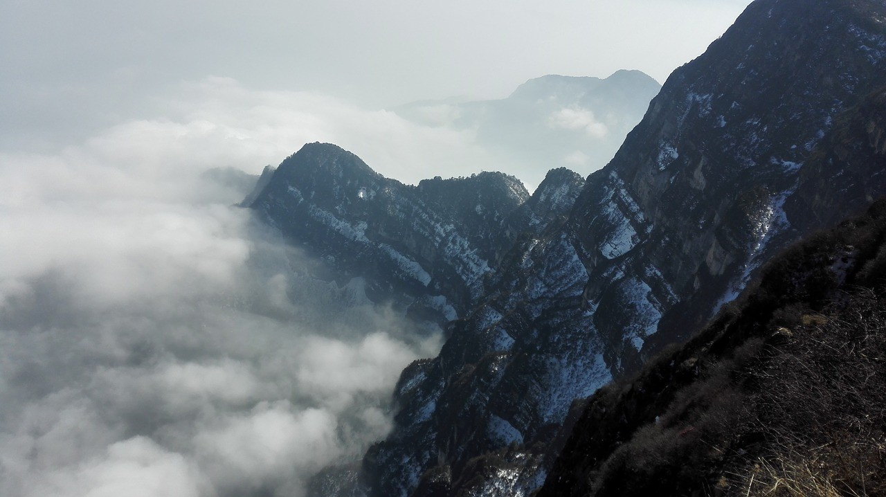 Beautiful places in China: Beautiful views at Emeishan