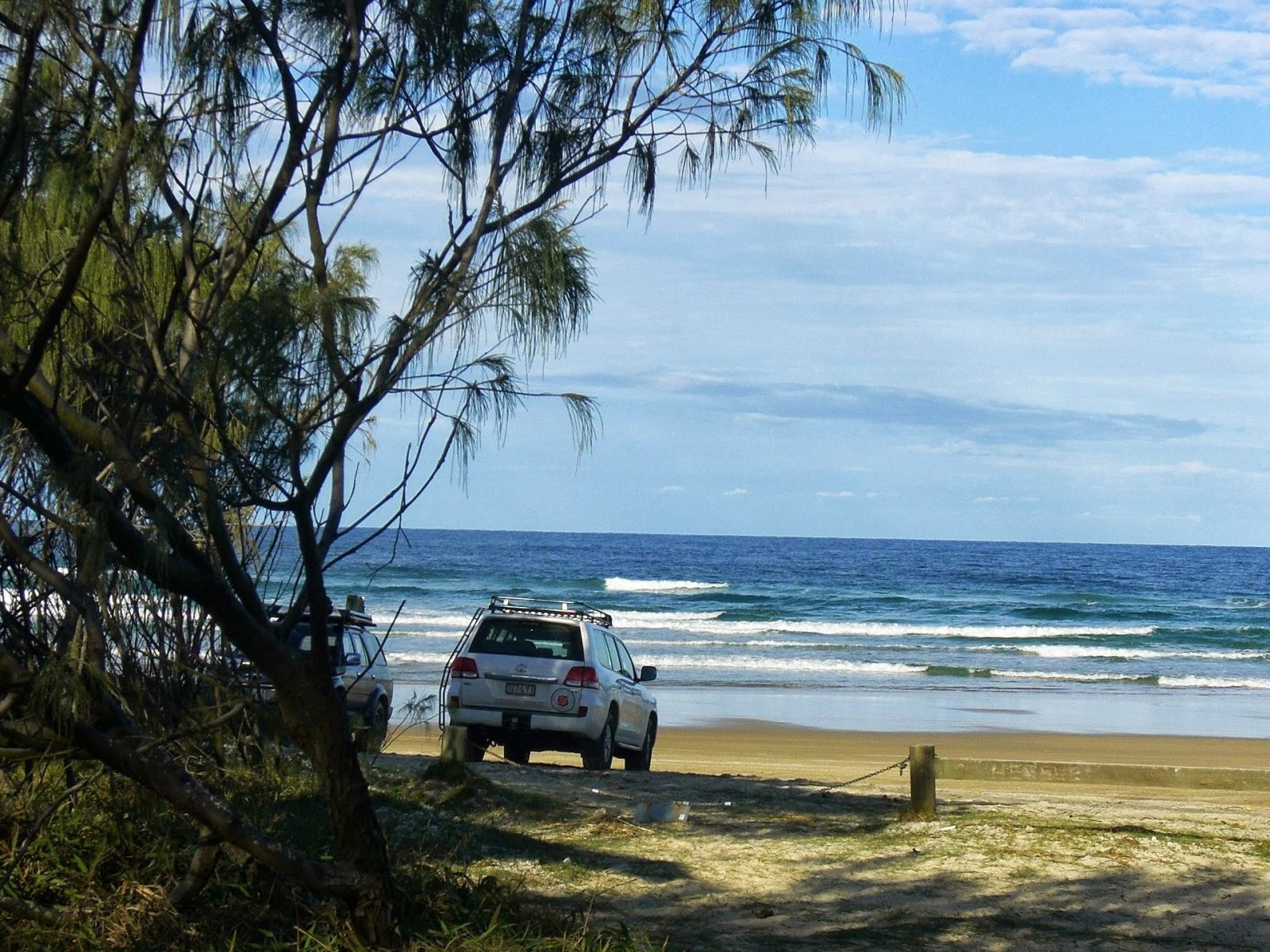 Camping on Fraser Island: 4WD