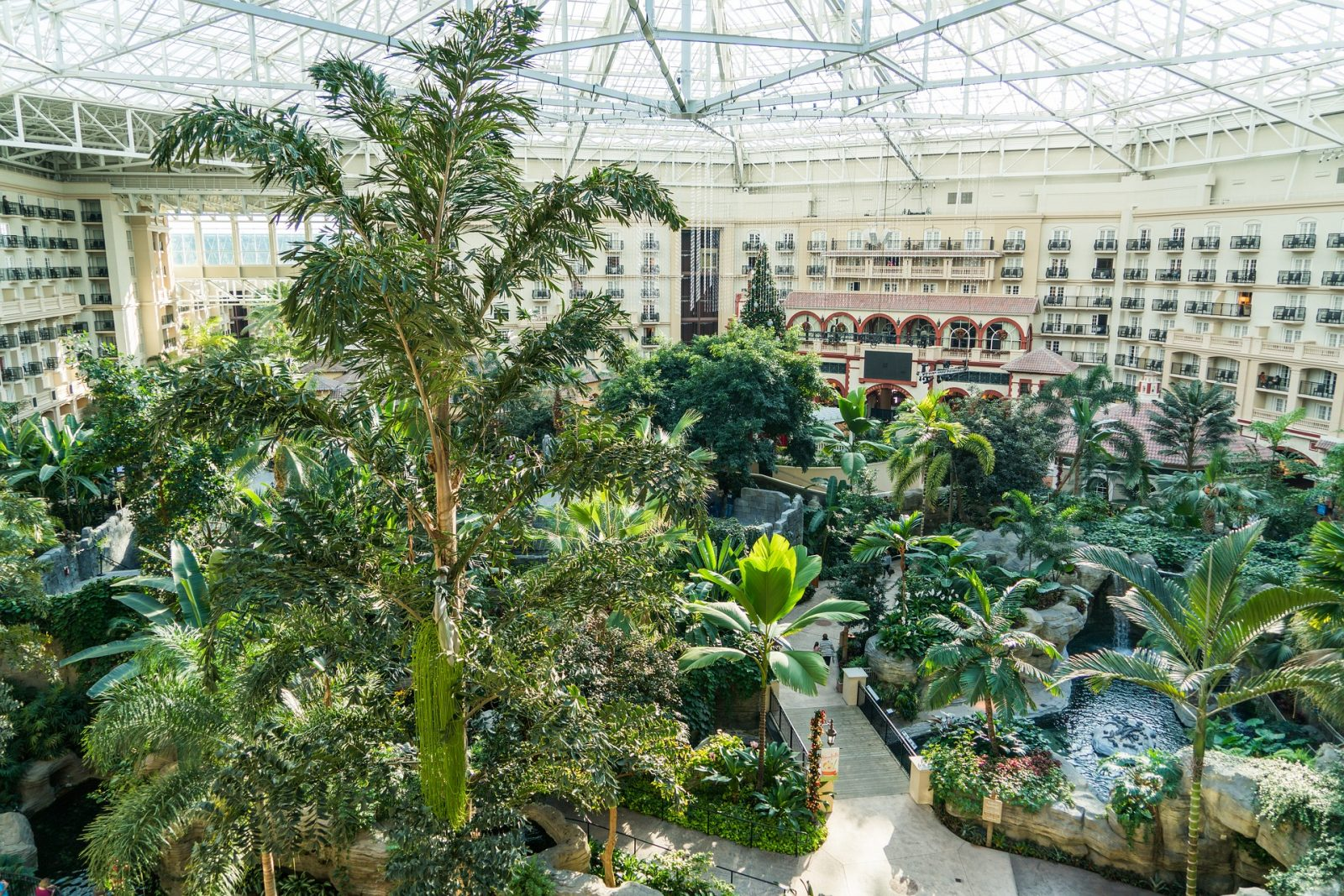 What to do in Orlando: Restaurant and hotel on the Disney property