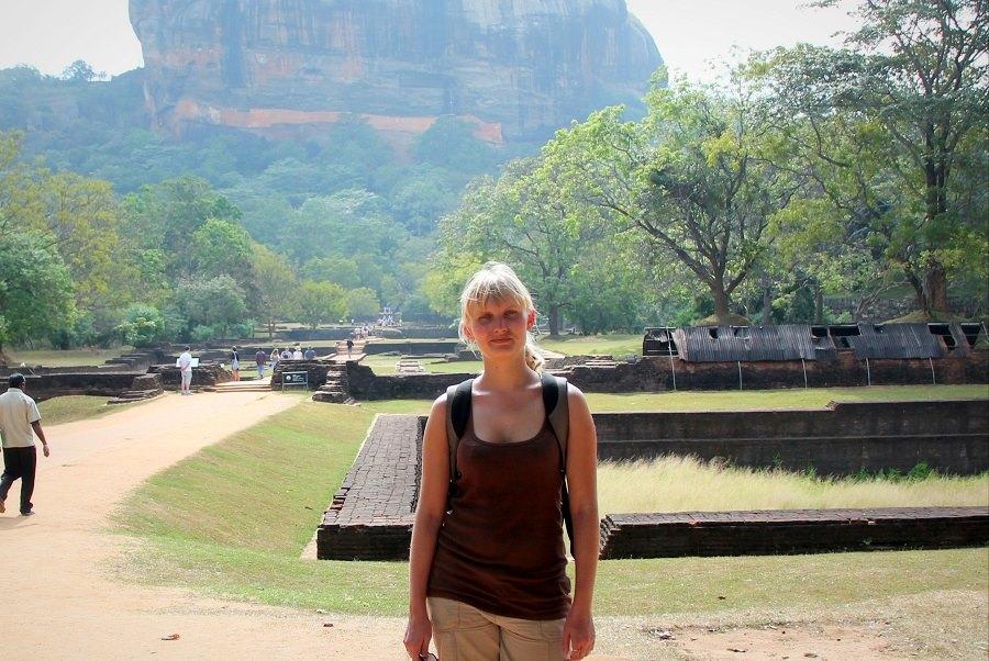 Hanna on the road. Photo courtesy of Hanna Travels