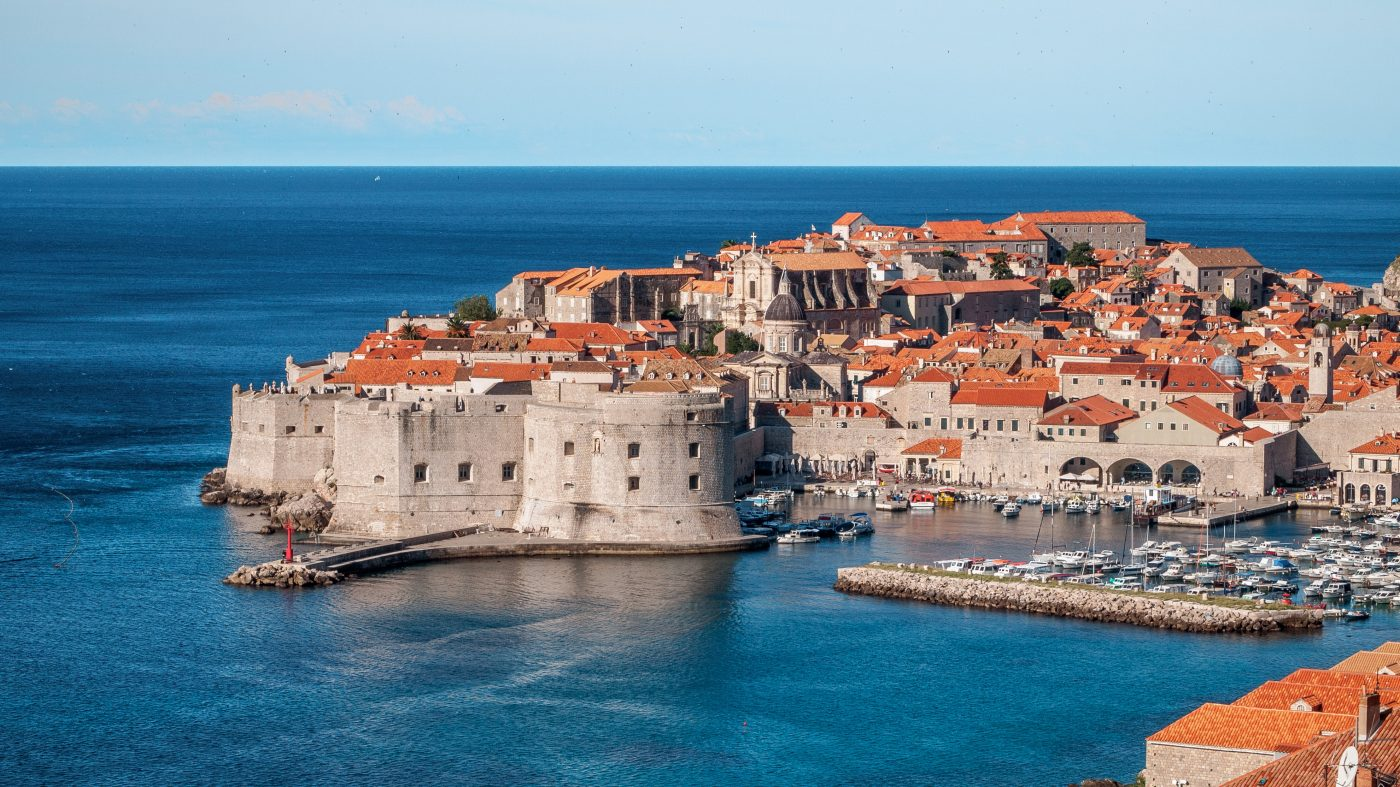 Things to do in Dubrovnik: coastal view of Dubrovnik