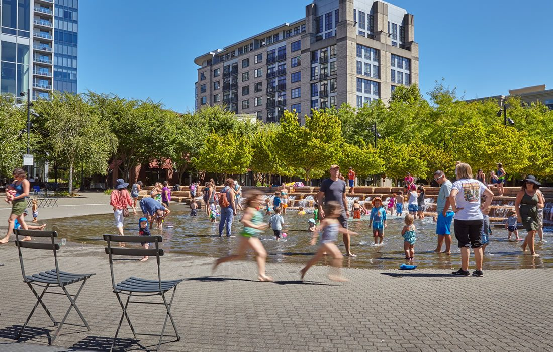 Things to do in Portland Oregon: Jamison Square Portland