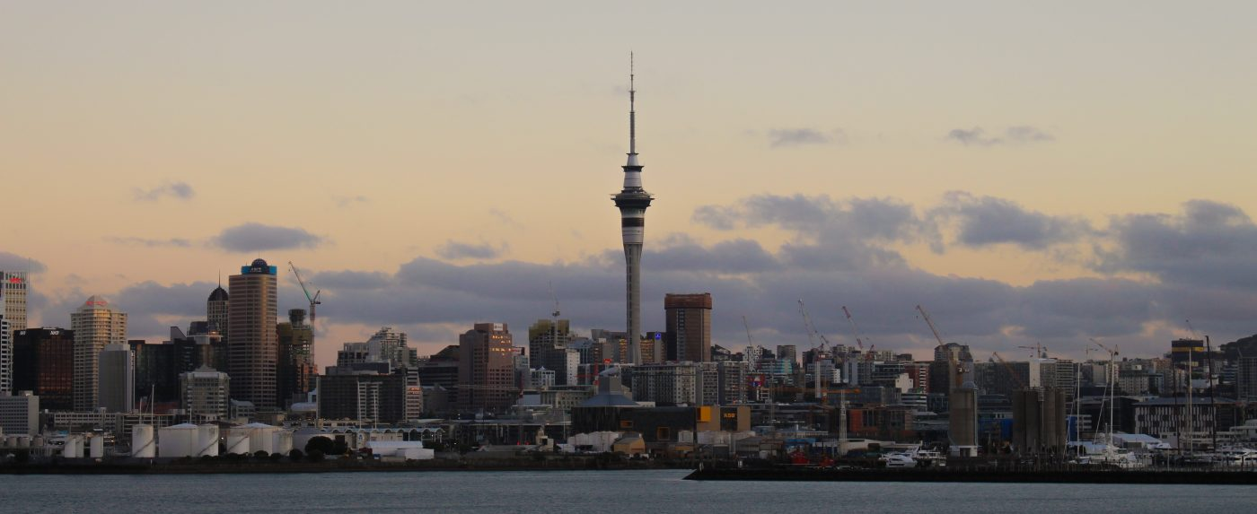 Things to do in New Zealand include visiting the Sky Tower in Auckland