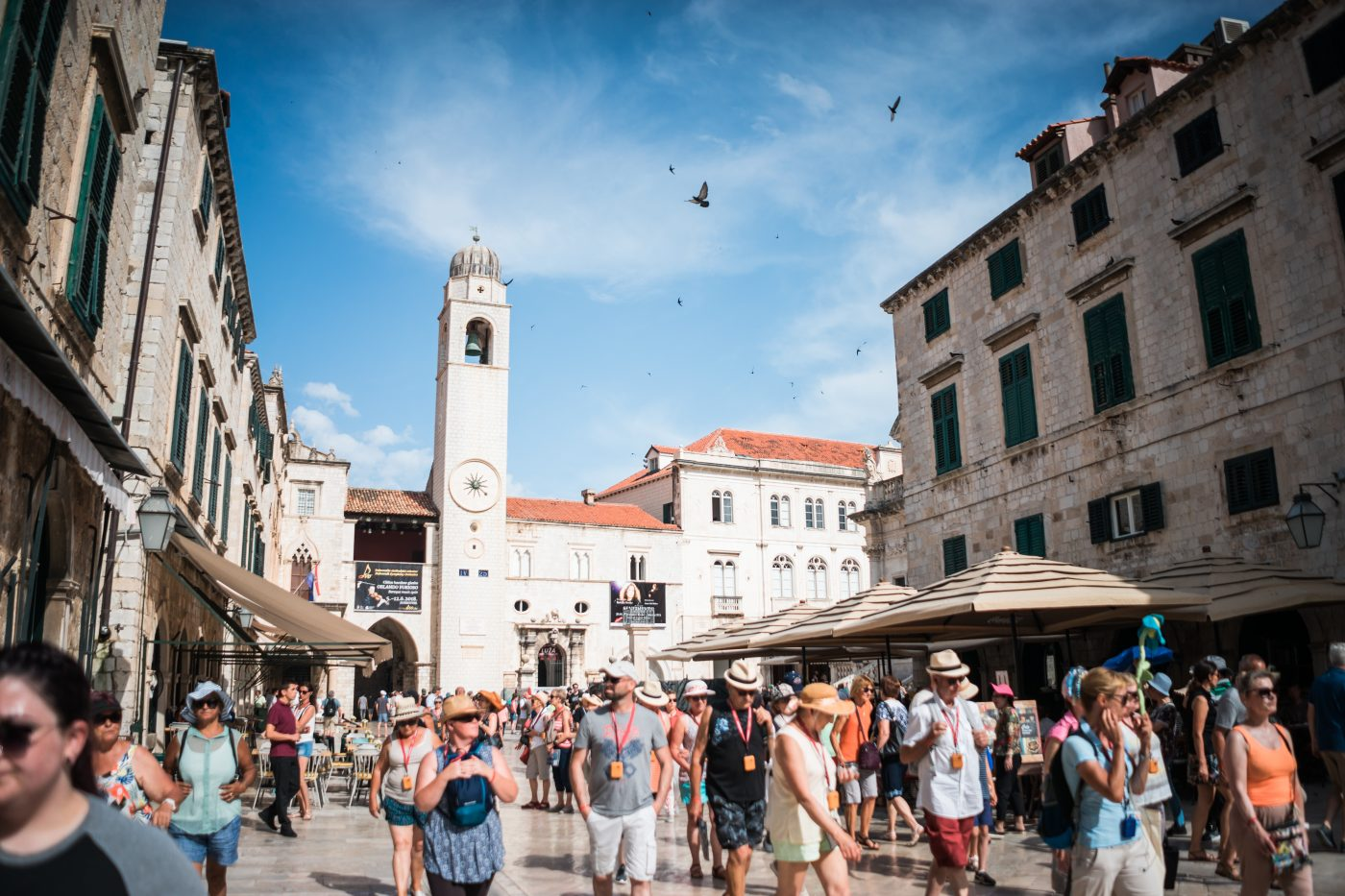Things to do in Dubrovnik: walking through Dubrovnik market