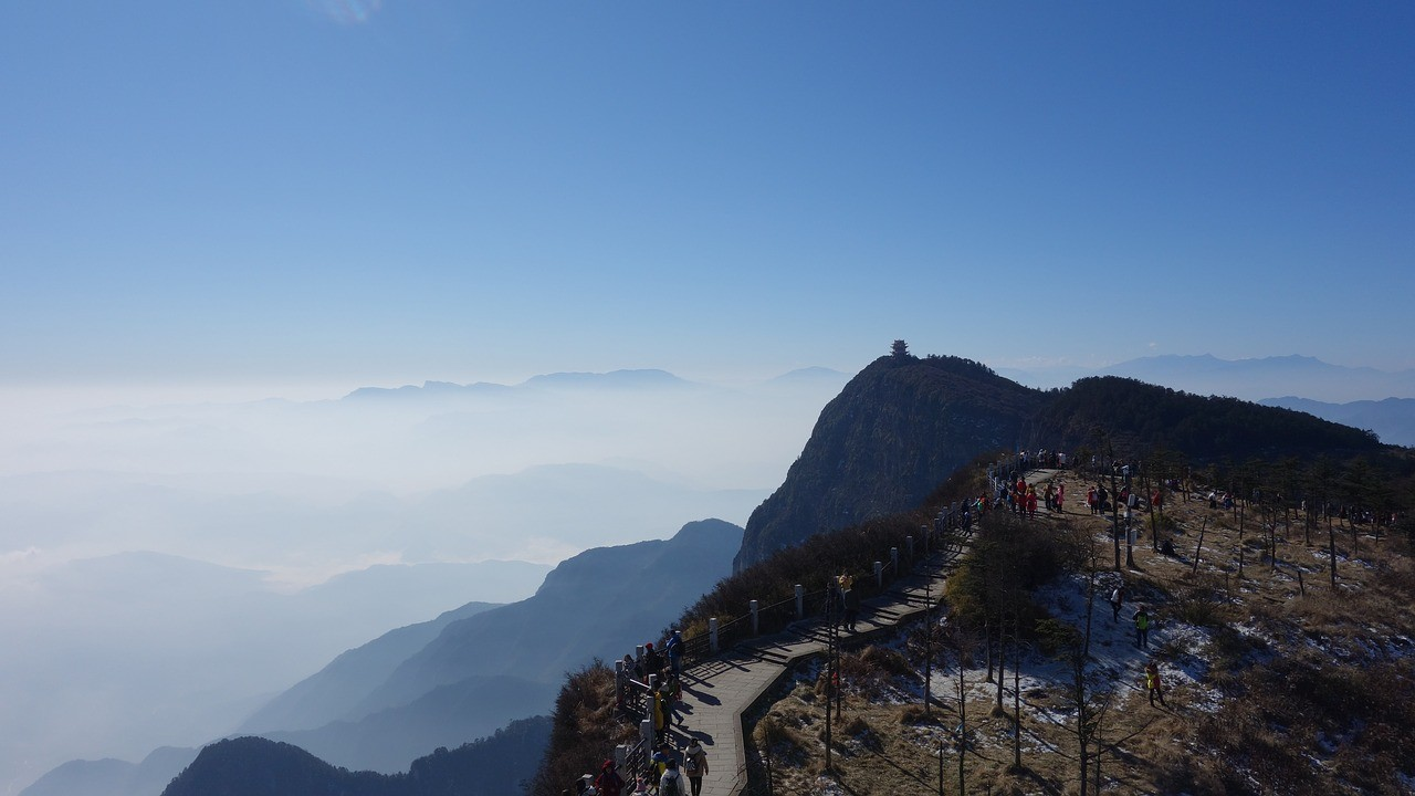 Beautiful places in China: Summit of Mt Emei (EmeiShan)