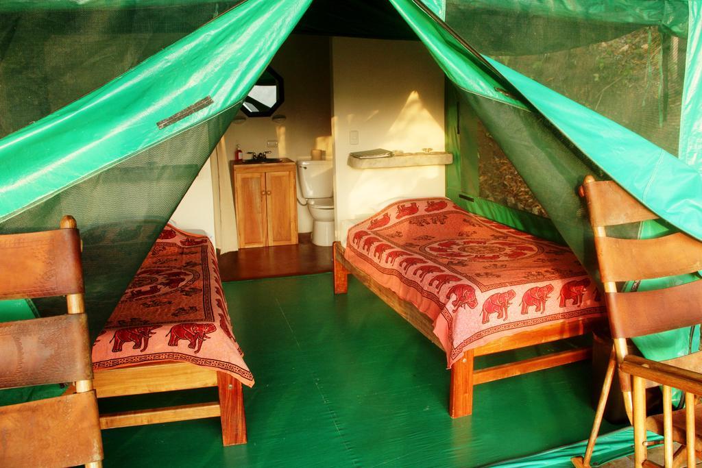 Osa Peninsula eco lodge: An immersive room at Luna Lodge on the Osa Peninsula. Photo by Luna Lodge.