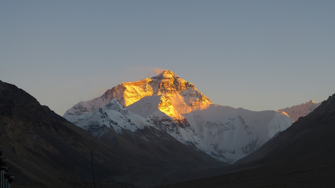 Beautiful places in China: Mt Everest, Tibet