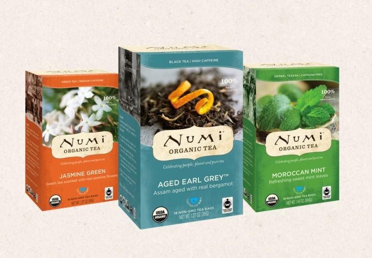 Best organic tea brands: Numi Tea. Photo by Numi Tea
