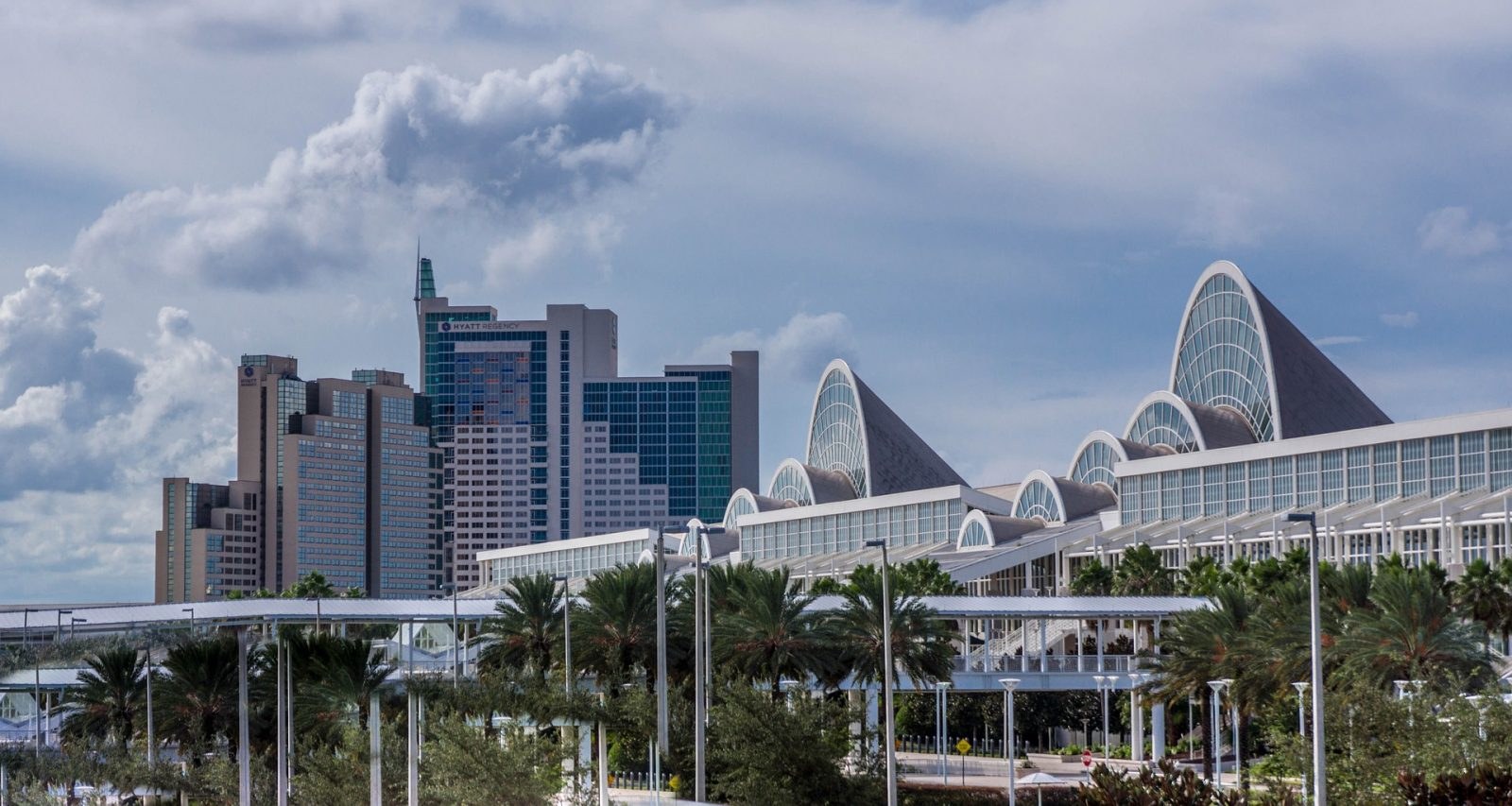What to do in Orlando: Storm clouds brewing over downtown Orlando?