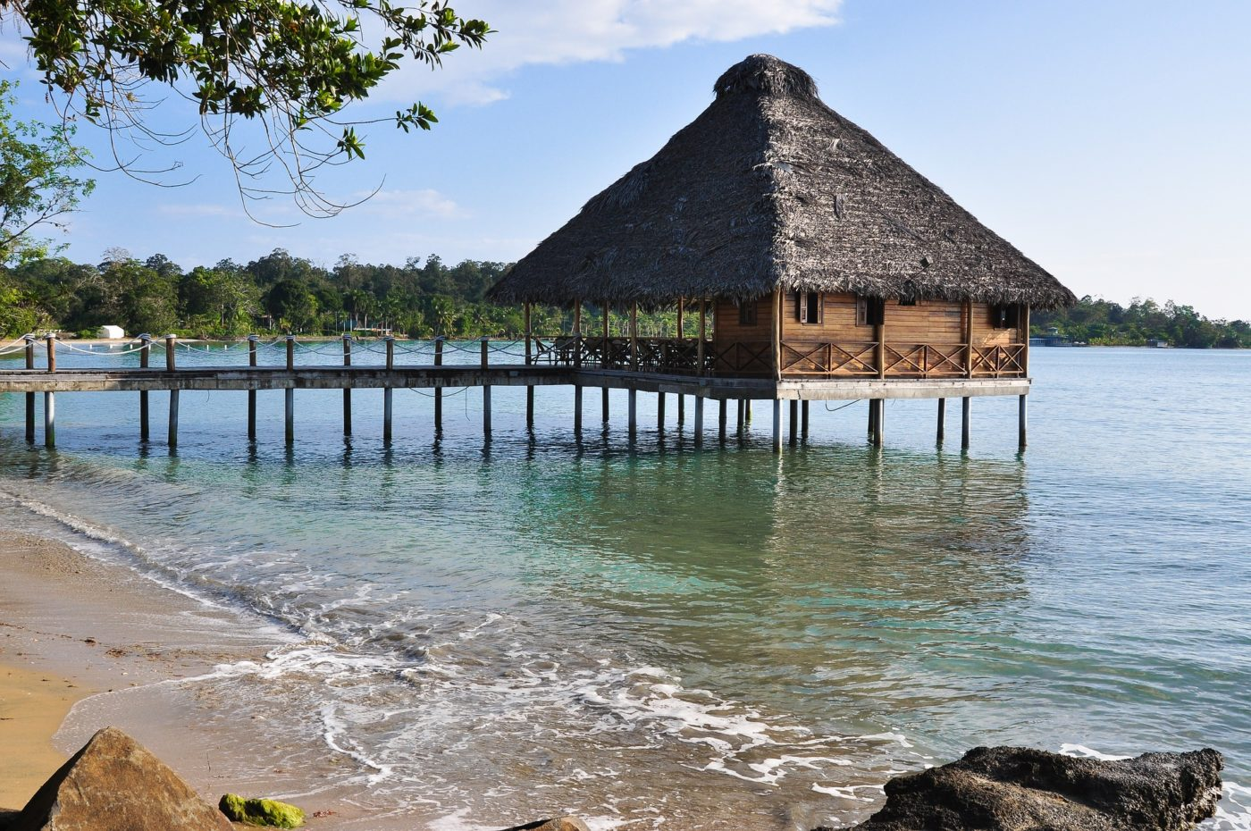 Bungalow on Bocas del Toro, Panama