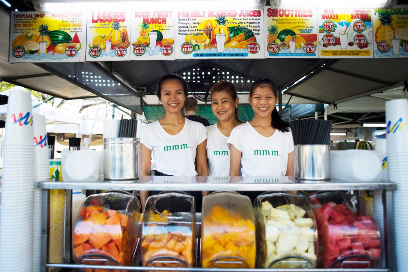 What to do in Darwin: Stall in Parap Market