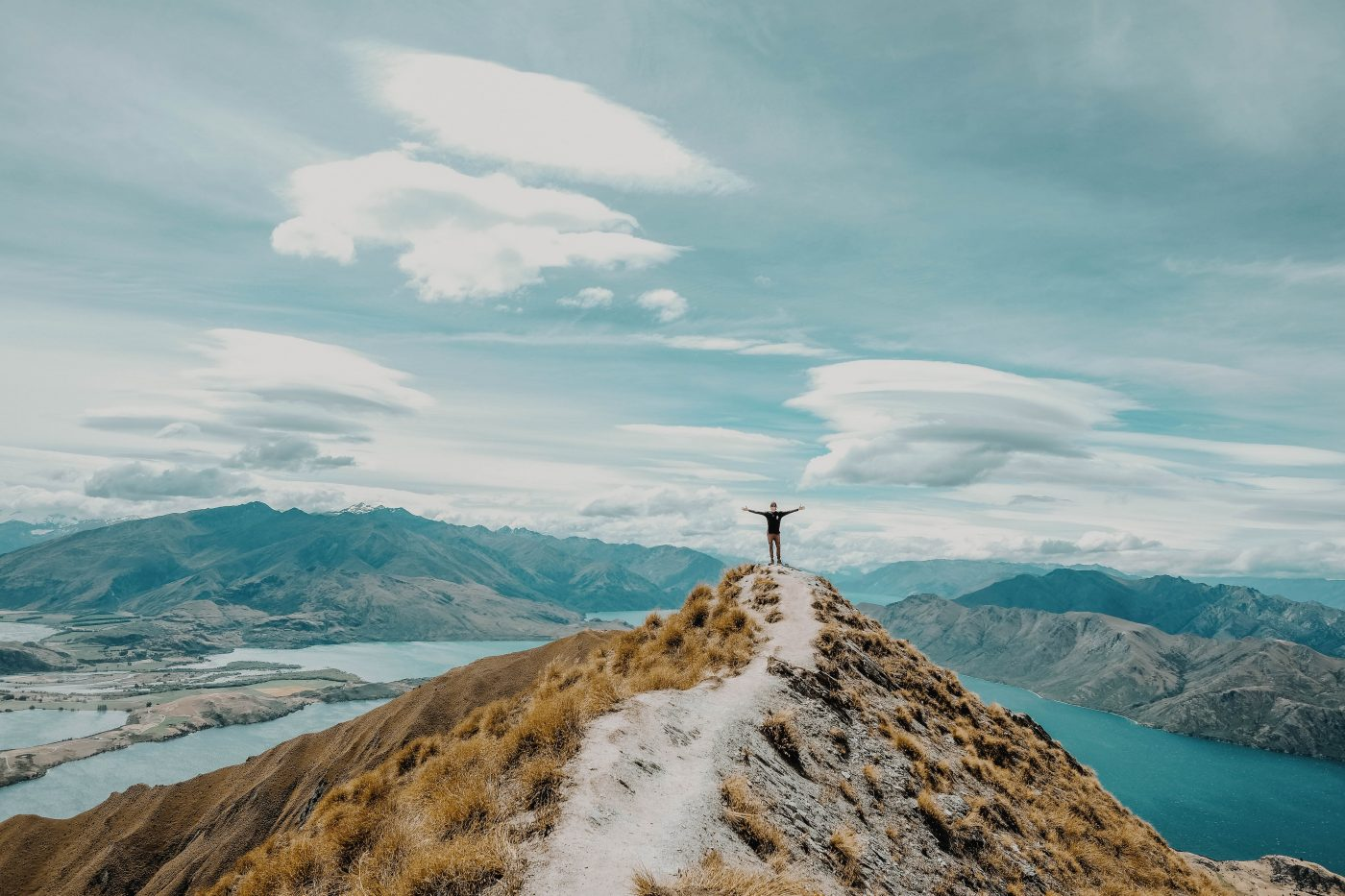 Roys Peak is a must see in New Zealand