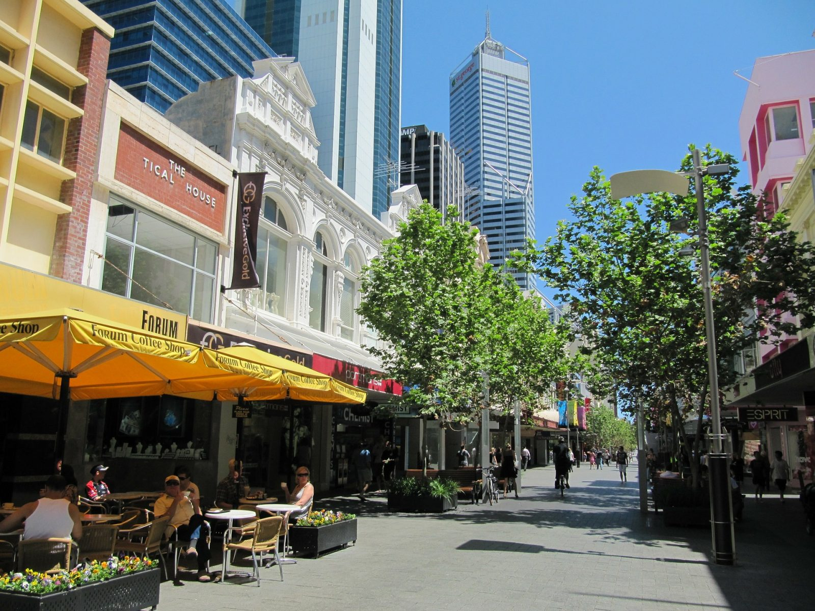 Western Australia Itinerary: The streets of Perth