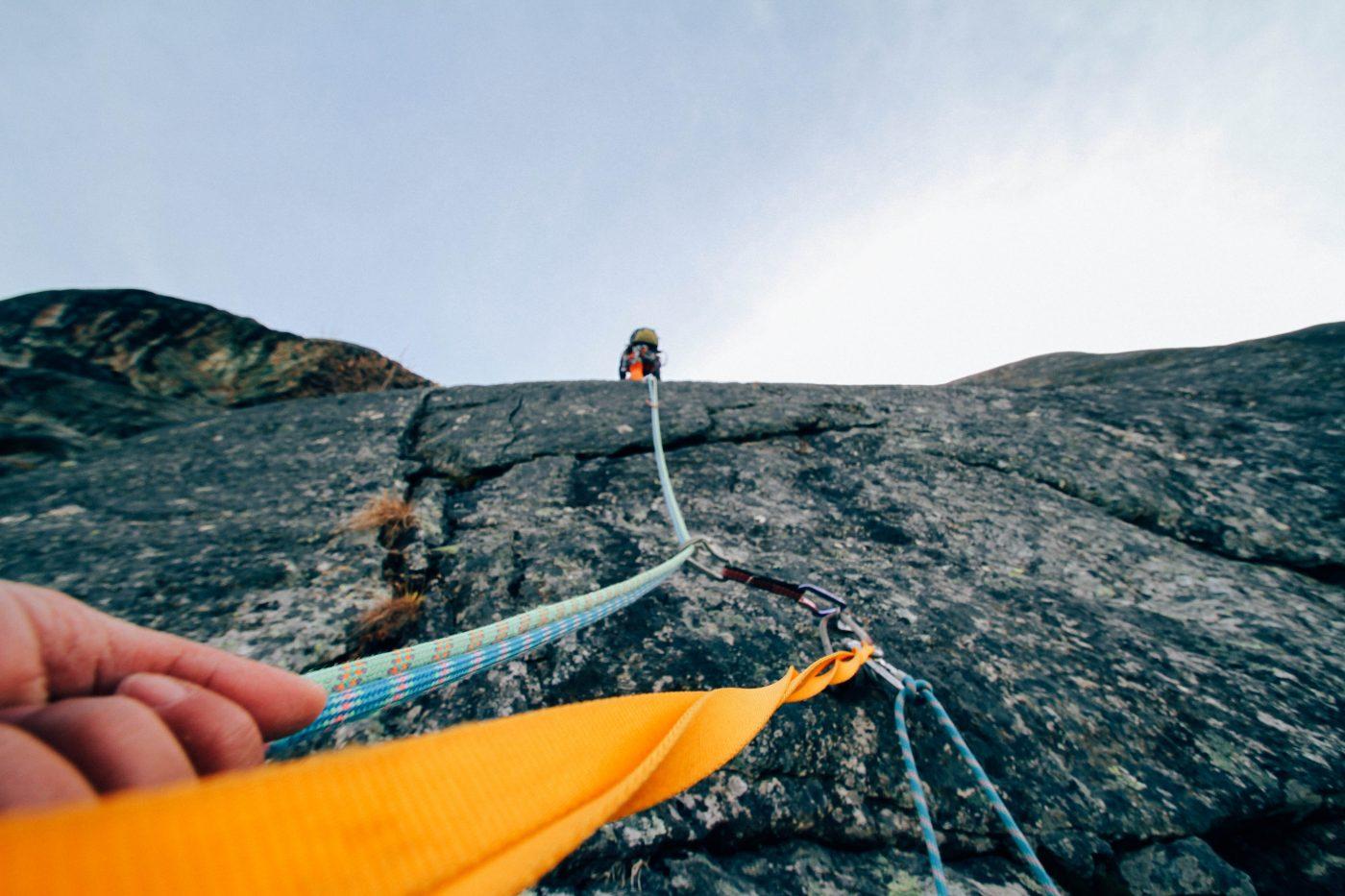Minimalism: Mountain climbing