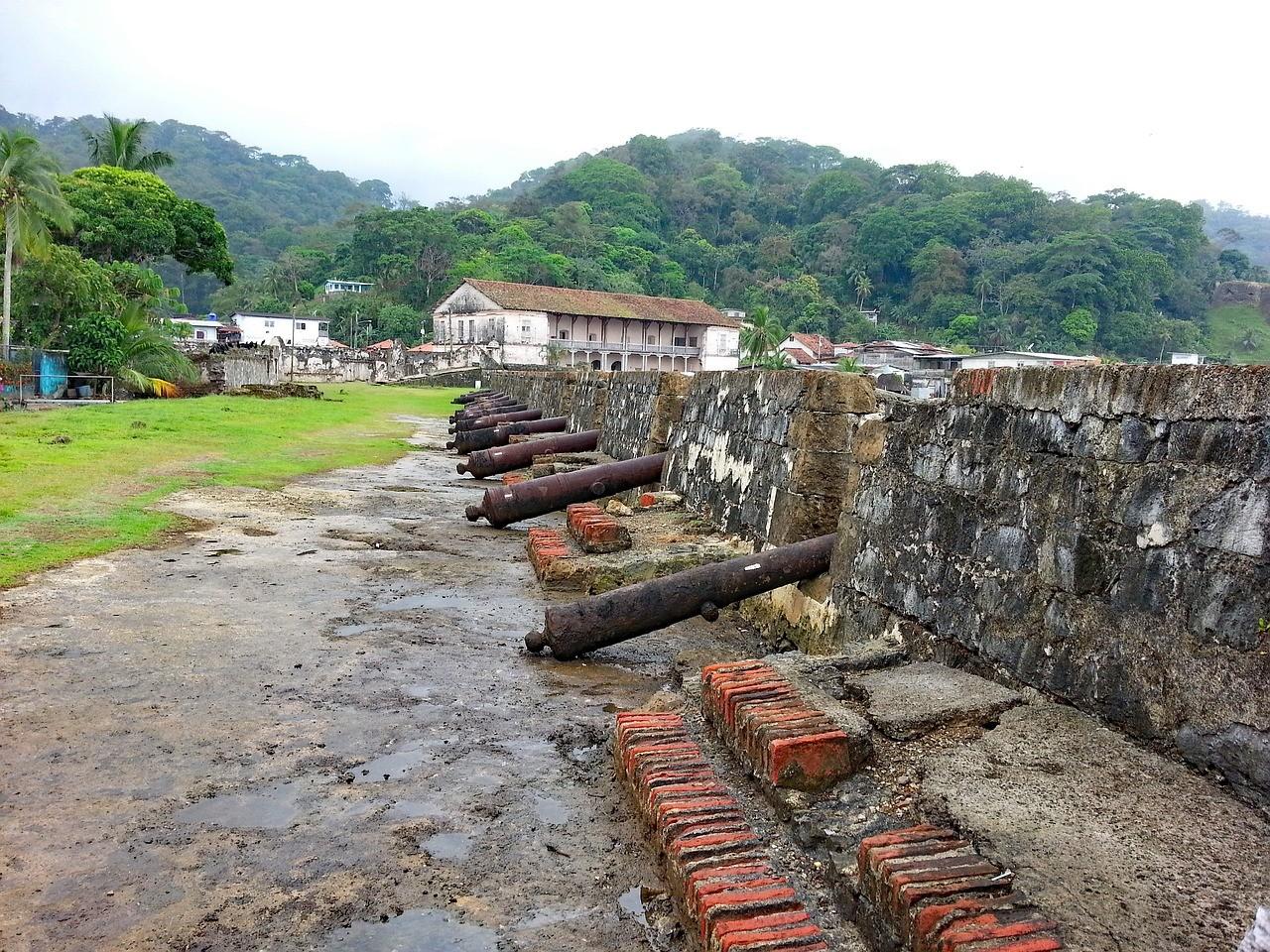 Fuerte San Rolando, Portobelo, Panama