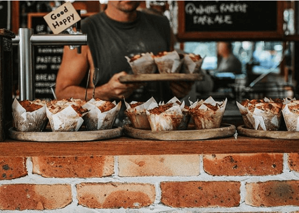 Things to do in Byron Bay: Muffins