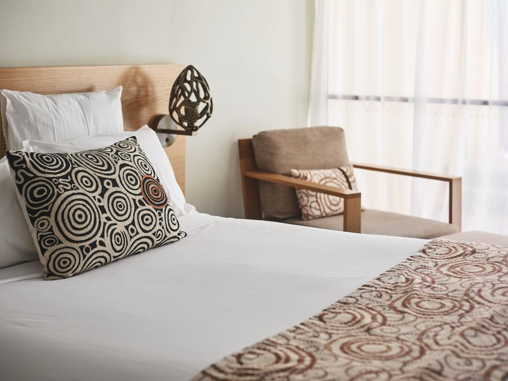Uluru hotels: Room at Sails in the Desert. Photo by Sails in the Desert.