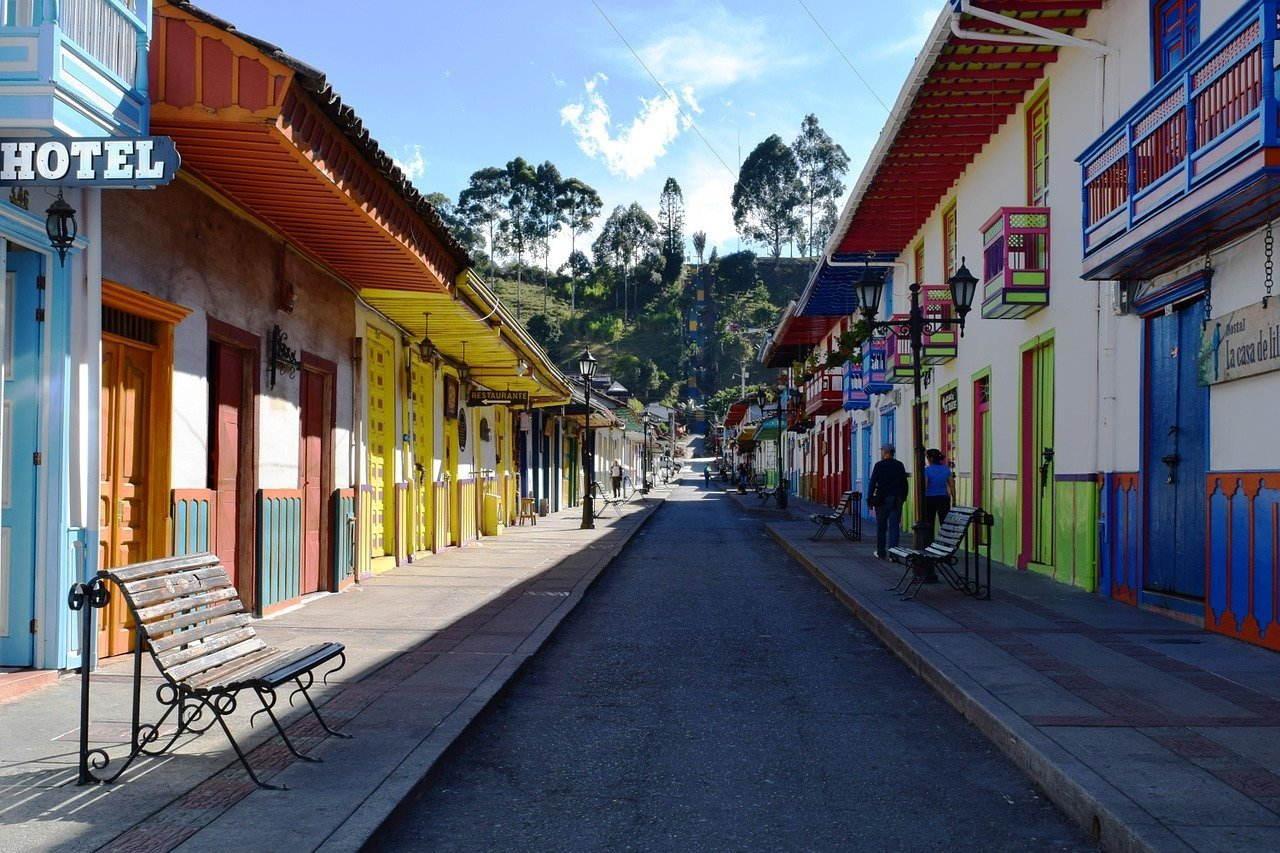 best places to visit in colombia- - Salento