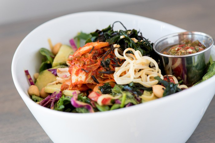What to do in Orlando: Lunch bowl at The Sanctum Cafe. Photo by The Sanctum Cafe.