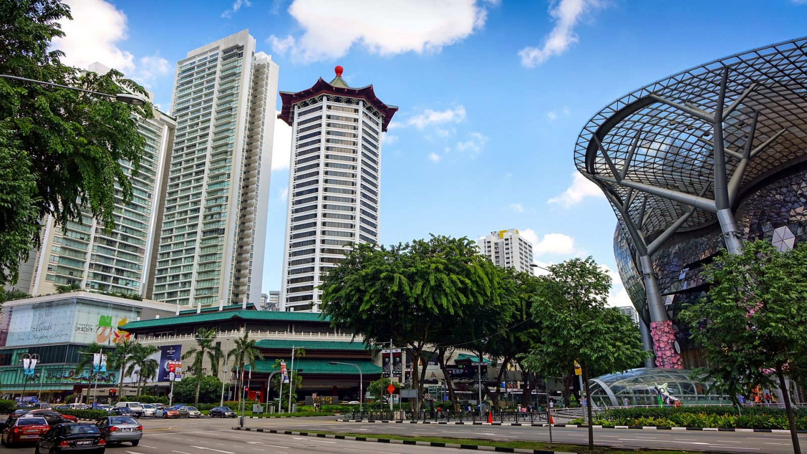 Stopover in Singapore: Orchard Road in Singapore